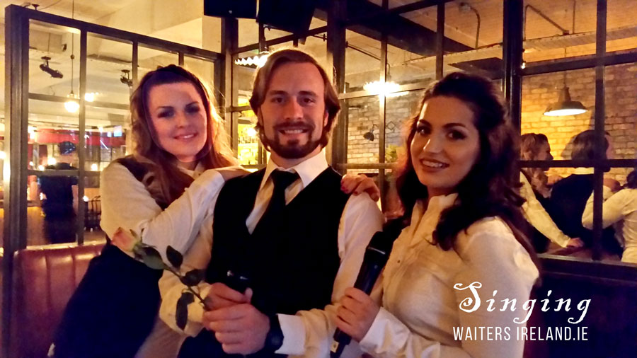 Singing Waiters for hire with www.singingwaitersireland.ie