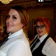 Singing Waiters perform at Powerscourt with www.singingwaitersireland.ie