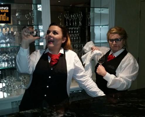 Singing DIVA Waiters for hire with www.singingwaitersireland.ie